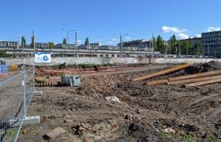zdjęcie z budowy Zajezdnia Wrocław