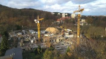zdjęcie z budowy Opacka Oliwa