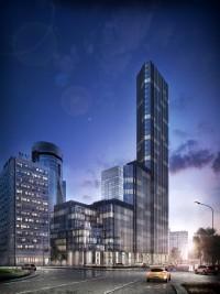 wizualizacje City Tower