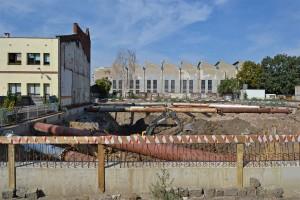 zdjęcie z budowy Apartamentowiec Halo