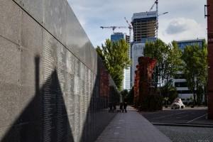 zdjęcie z budowy Spektrum Tower