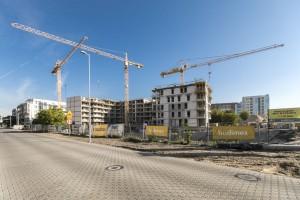 zdjęcie z budowy Polanka Milczańska