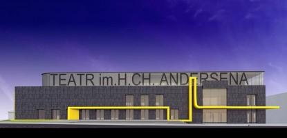 wizualizacje Teatr im.H.CH. Andersena