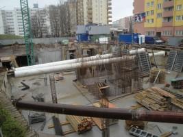 zdjęcie z budowy Pawia 73
