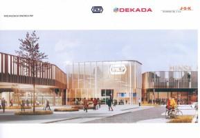 wizualizacje Dworzec Autobusowy i Kolejowy Mińsk Mazowiecki