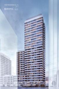 zdjęcie z budowy Unique Tower