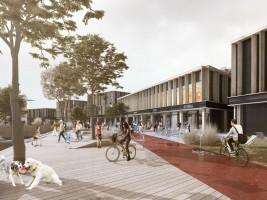 zdjęcie z budowy Centrum handlowe Swoja Olimpia