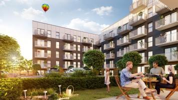 wizualizacje Apartamenty na Wzgórzu