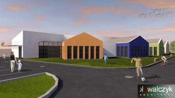 zdjęcie z budowy Przedszkole nr 1