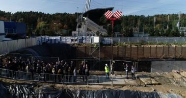 zdjęcie z budowy 3T Office Park