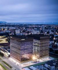 zdjęcie z budowy Biurowiec Wave