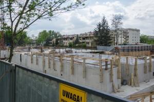zdjęcie z budowy Budynek Komunalny