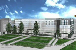wizualizacje Acciona Business Center