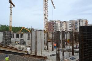 zdjęcie z budowy Wschodnia 19