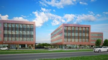 zdjęcie z budowy Porto Office