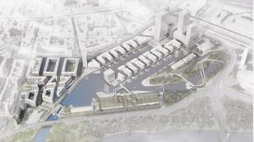 zdjęcie z budowy Port Praski
