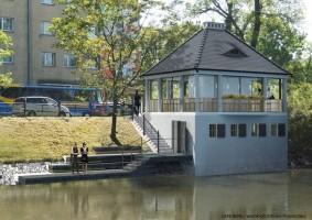 wizualizacje Kawiarnia Cafe Berg
