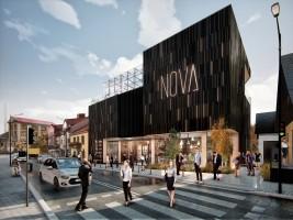 zdjęcie z budowy Park Handlowy Nova