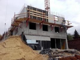 zdjęcie z budowy Osiedle Karoliny