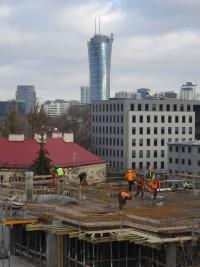 zdjęcie z budowy Wolska Kamienica