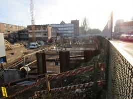 zdjęcie z budowy Stettiner Business Center
