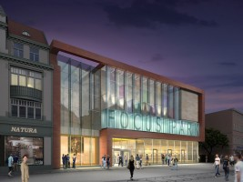 zdjęcie z przebudowy Focus Mall