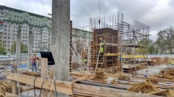 zdjęcie z budowy Apartamenty na Wspólnej