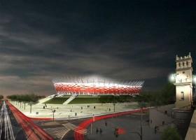 Jedna z wersji stadionu