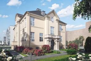 zdjęcie z przebudowy Villa Rosa