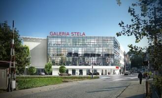zdjęcie z budowy Galeria Stela