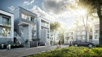 zdjęcie z budowy Zielnik Apartamenty