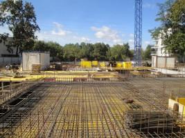zdjęcie z budowy Willa Natolanka