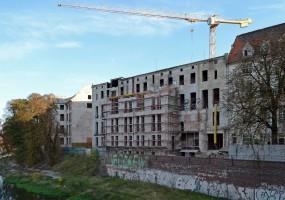 zdjęcie z przebudowy Przy Przystani
