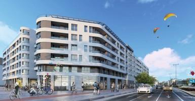 zdjęcie z budowy Apartamenty Plac Unii
