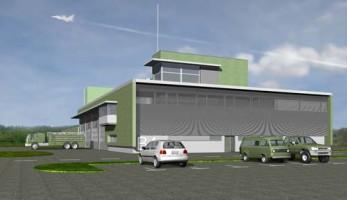 zdjęcie Budynek Wojskowej Straży Pożarnej