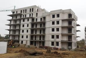 zdjęcie z budowy Pomorska Park