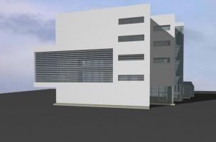 zdjęcie z budowy Centrum Edukacji i Rozwoju w Medycynie