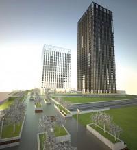 zdjęcie z budowy Silesia for Buisness