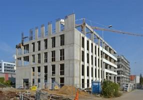 zdjęcie z budowy Centrum Badawczo-Rozwojowe Techland