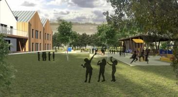 zdjęcie z budowy Przedszkole Biedrusko