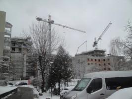 zdjęcie z budowy Zakątek Cybisa