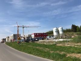 zdjęcie z budowy Osiedle Leszczynowy Staw
