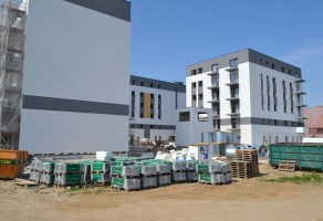 zdjęcie z budowy Osiedle Nowe Ogrody