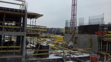 zdjęcie z budowy Strefa Wilanów