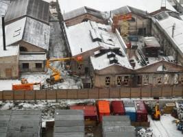 zdjęcie z przebudowy Dawna Fabryka Norblina