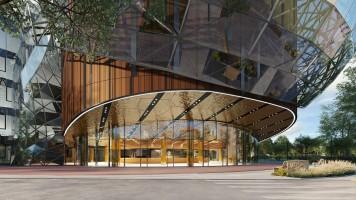 zdjęcie z budowy Cavatina Hall