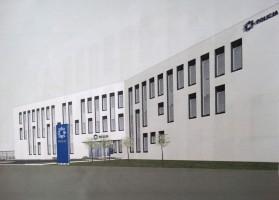 zdjęcie z budowy VI Komisariat Policji