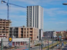 zdjęcie z budowy Apartamenty Mogilska