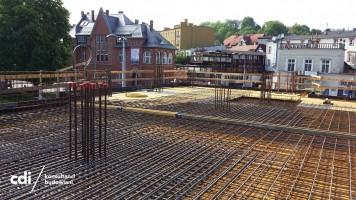 zdjęcie z budowy Makrum Office