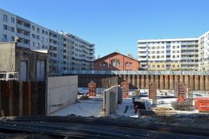 zdjęcie z budowy Osiedle Tęczowa 83a